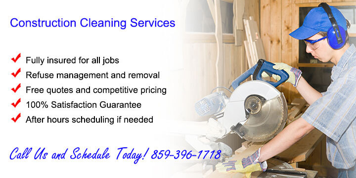 Post Construction Cleaning Lexington KY
