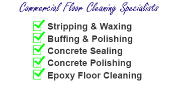 Commercial Floor Cleaning Specialists
