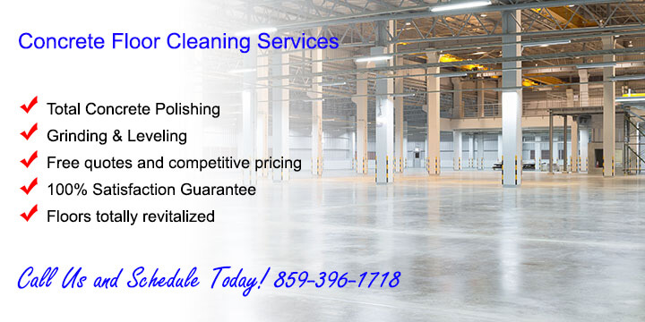 Concrete Floor Cleaning and Polishing