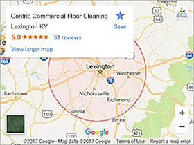 Centric Cleaning Local Map