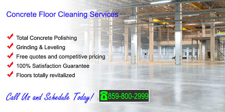 Concrete Floor Cleaning Polishing
